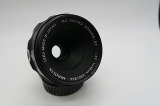 MC MACRO ROKKOR-QF 50mm F3.5